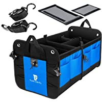 TRUNKCRATEPRO Collapsible Portable Multi Compartments Heavy Duty Non-Slip Cargo...