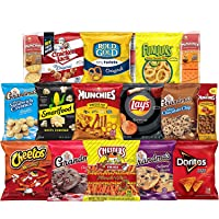 Frito-Lay Ultimate Snack Care Package, Variety Assortment of Chips, Cookies, Crackers...