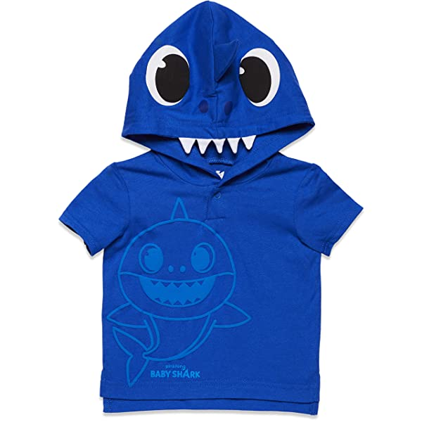 Pinkfong Baby Shark Boys French Terry Shorts Set
