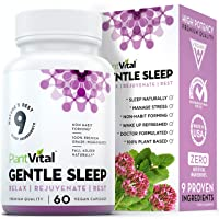 NEW! Sleeping Pills For Adults [EXTRA STRENGTH] Herbal Sleep Aid w Valerian Root...