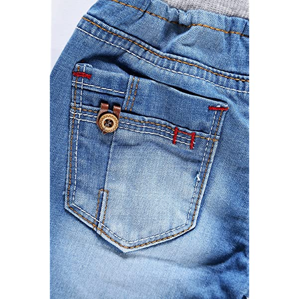 Encontrar Boys Blue Ripped Jeans Shorts 2T-8
