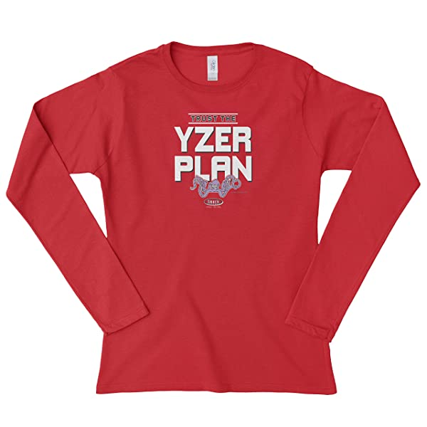 Sm-5x Smack Apparel Detroit Hockey Fans Trust The Yzerplan Red T-Shirt