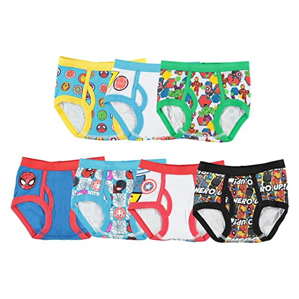 Marvel Comics Heroes Little Boys 1 Pack Boxer Shorts